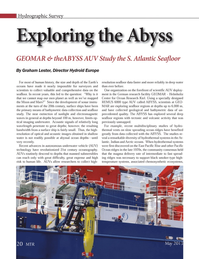 Marine Technology Magazine, page 20,  May 2013 Arctic Ocean