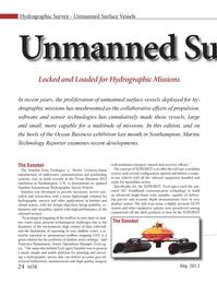 Marine Technology Magazine, page 24,  May 2013 Francisco Bustamante
