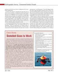 Marine Technology Magazine, page 26,  May 2013 May