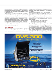 Marine Technology Magazine, page 27,  May 2013