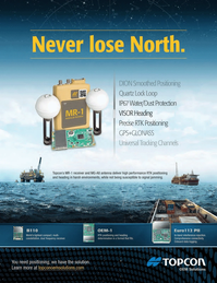 Marine Technology Magazine, page 1,  May 2013