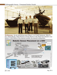 Marine Technology Magazine, page 28,  May 2013