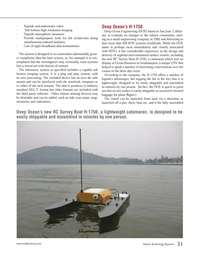 Marine Technology Magazine, page 31,  May 2013 Plug and Play system
