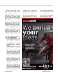 Marine Technology Magazine, page 35,  May 2013 extremely capable processors