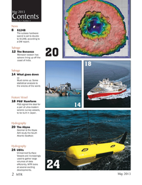 Marine Technology Magazine, page 2,  May 2013
