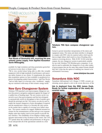 Marine Technology Magazine, page 38,  May 2013