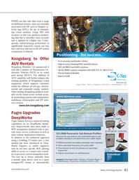 Marine Technology Magazine, page 41,  May 2013 manipulator tools