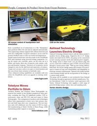 Marine Technology Magazine, page 42,  May 2013 lish manufacturing