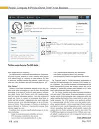 Marine Technology Magazine, page 44,  May 2013 mobile web applications