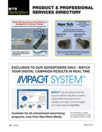 Marine Technology Magazine, page 46,  May 2013