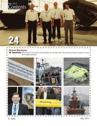 Marine Technology Magazine, page 4,  May 2013