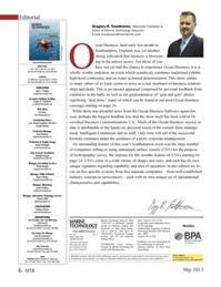 Marine Technology Magazine, page 6,  May 2013 Edward Lundquist