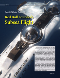 Marine Technology Magazine, page 8,  Jun 2013