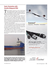 Marine Technology Magazine, page 15,  Jun 2013