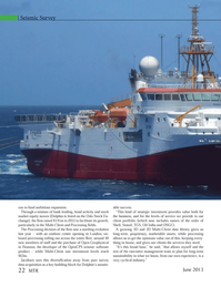 Marine Technology Magazine, page 22,  Jun 2013