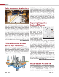 Marine Technology Magazine, page 34,  Jun 2013 integrated drilling equipment