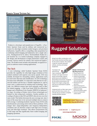 Marine Technology Magazine, page 15,  Jul 2013 SAS technology