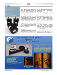 Marine Technology Magazine, page 19,  Jul 2013 navigation services