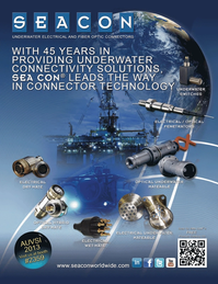 Marine Technology Magazine, page 1,  Jul 2013