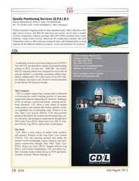 Marine Technology Magazine, page 28,  Jul 2013 4D visualization software