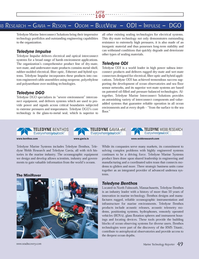 Marine Technology Magazine, page 49,  Jul 2013 Benthos technologies