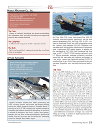 Marine Technology Magazine, page 59,  Jul 2013 signal processing techniques