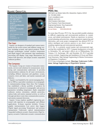 Marine Technology Magazine, page 61,  Jul 2013 PCCI??s key technologies