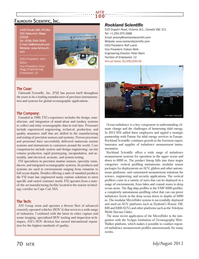 Marine Technology Magazine, page 70,  Jul 2013 Scripps Institution of Oceanography Wire