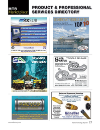 Marine Technology Magazine, page 77,  Jul 2013 flash