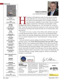 Marine Technology Magazine, page 8,  Sep 2013 Florida