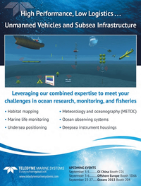 Marine Technology Magazine, page 15,  Sep 2013