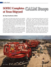 Marine Technology Magazine, page 16,  Sep 2013
