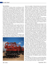 Marine Technology Magazine, page 18,  Sep 2013 Gulf Copper?s
