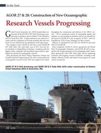 Marine Technology Magazine, page 20,  Sep 2013 Eric Engelbrecht