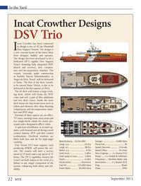 Marine Technology Magazine, page 22,  Sep 2013 Scania