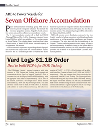 Marine Technology Magazine, page 24,  Sep 2013
