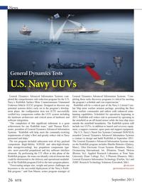 Marine Technology Magazine, page 26,  Sep 2013 Texas