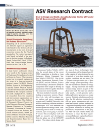 Marine Technology Magazine, page 28,  Sep 2013