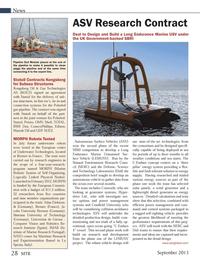 Marine Technology Magazine, page 28,  Sep 2013 UK Government