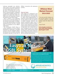 Marine Technology Magazine, page 35,  Sep 2013 gas service