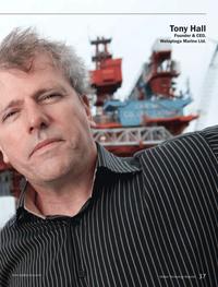 Marine Technology Magazine, page 37,  Sep 2013 Welaptega Marine Ltd.
