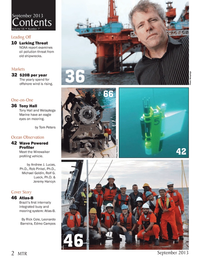 Marine Technology Magazine, page 2,  Sep 2013 Rob Pinkel
