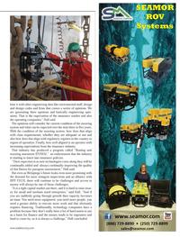 Marine Technology Magazine, page 41,  Sep 2013 insurance industry
