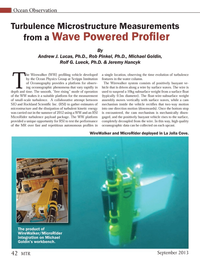 Marine Technology Magazine, page 42,  Sep 2013 Rob Pinkel