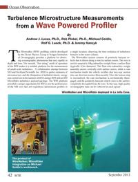 Marine Technology Magazine, page 42,  Sep 2013 Rob Pinkel