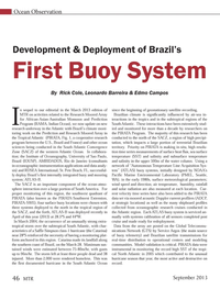 Marine Technology Magazine, page 46,  Sep 2013 Indian Ocean