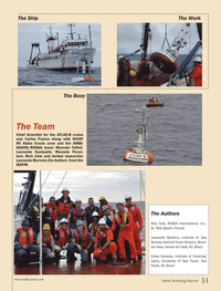 Marine Technology Magazine, page 51,  Sep 2013 Paulo Moreira