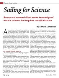 Marine Technology Magazine, page 52,  Sep 2013 Bob Hout