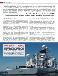 Marine Technology Magazine, page 56,  Sep 2013 Military Sealift Command