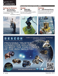 Marine Technology Magazine, page 4,  Sep 2013